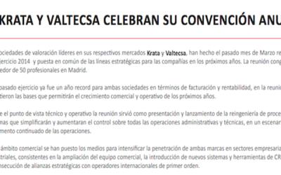 Krata y Valtecsa celebran su convención anual